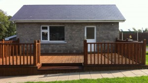 Decking and Garage by Pat Brennan